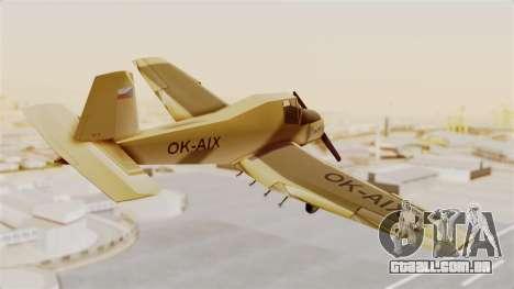 Z-37 Cmelak para GTA San Andreas vista direita
