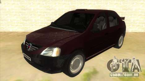 Dacia Logan Sport para GTA San Andreas