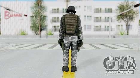 Black Mesa - HECU Marine v2 para GTA San Andreas terceira tela