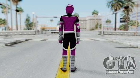 Power Rangers Jungle Fury - Wolf para GTA San Andreas terceira tela