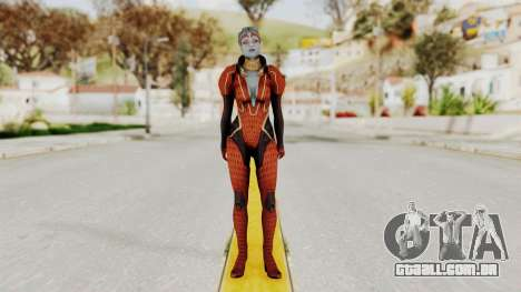 Mass Effect 2 Samara Red para GTA San Andreas segunda tela