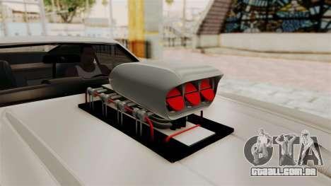 Ford Mustang 1971 Monster Truck para GTA San Andreas vista traseira