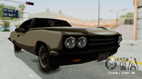 Lobo Custom para GTA San Andreas vista direita