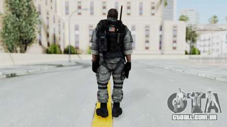 Battery Online Soldier 4 v2 para GTA San Andreas terceira tela