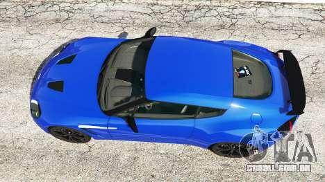 GTA 5 Aston Martin V12 Zagato voltar vista