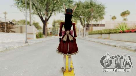 Alice LBL Madness Returns para GTA San Andreas terceira tela