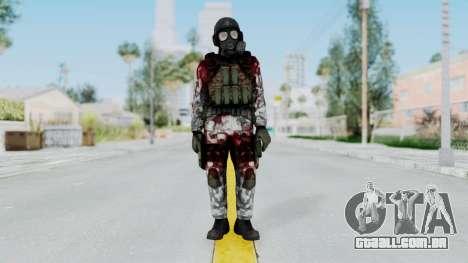 Black Mesa - Wounded HECU Marine v2 para GTA San Andreas segunda tela