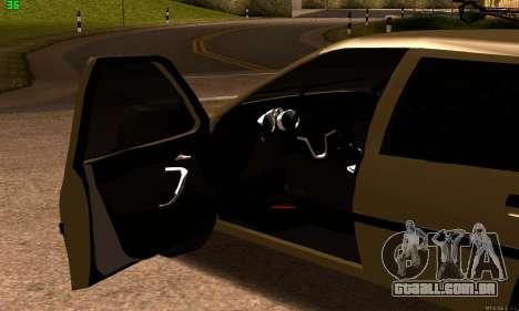 Opel Vectra A para GTA San Andreas traseira esquerda vista