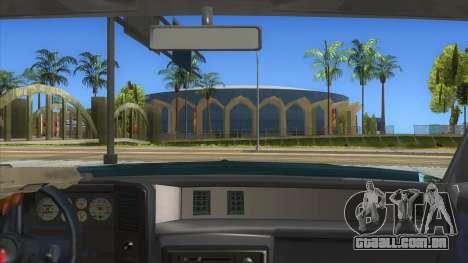 Chevrolet Monte Carlo 81 para GTA San Andreas vista interior