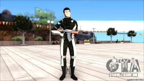 Star Trek Spock para GTA San Andreas segunda tela