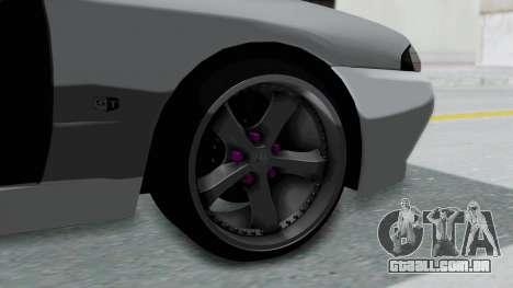Nissan Skyline R32 Drift (H.A.R) para GTA San Andreas traseira esquerda vista