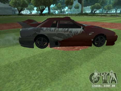 The Ghoul Elegy Vinyl (Beta) para GTA San Andreas esquerda vista