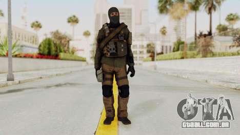CoD AW KVA LMG para GTA San Andreas segunda tela