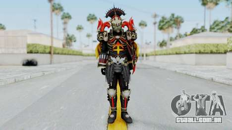 Sagitarius Zodiarts para GTA San Andreas segunda tela