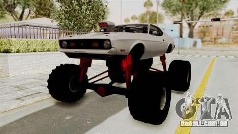Ford Mustang 1971 Monster Truck para GTA San Andreas