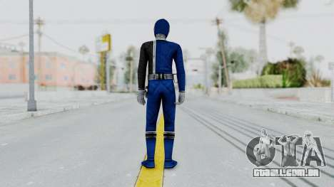 Power Rangers S.P.D - Blue para GTA San Andreas terceira tela