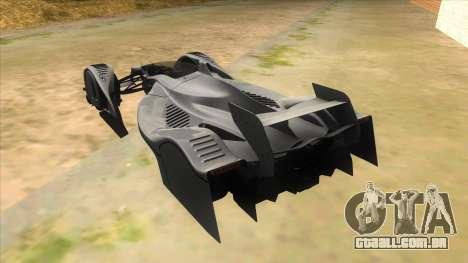 RedBull X2010 para GTA San Andreas traseira esquerda vista