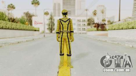 Power Rangers Mystic Force - Yellow para GTA San Andreas segunda tela