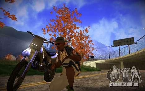 ENB Series by TURBO MIX para GTA San Andreas segunda tela