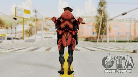 Mass Effect 3 Javik para GTA San Andreas terceira tela