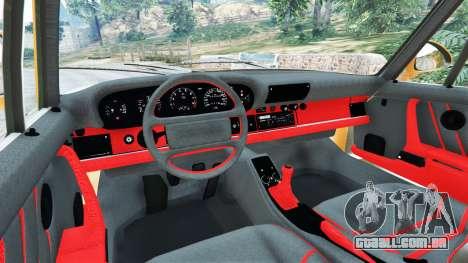 GTA 5 Porsche 959 1987 traseira direita vista lateral