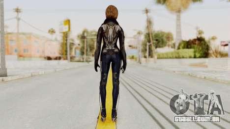 Ana from Metro Conflict para GTA San Andreas terceira tela