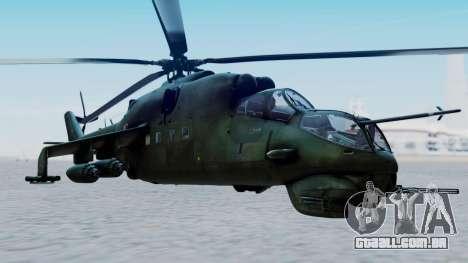 Mi-24V Polish Air Force 727 para GTA San Andreas