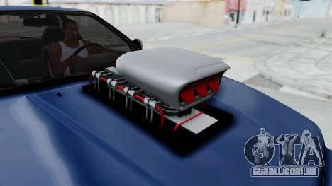 Nissan Silvia S13 Monster Truck para GTA San Andreas vista traseira