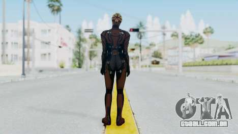Mass Effect 1 Asari Clone Commando para GTA San Andreas terceira tela