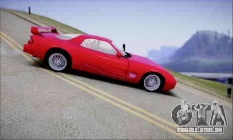 ZR - 350 para GTA San Andreas esquerda vista