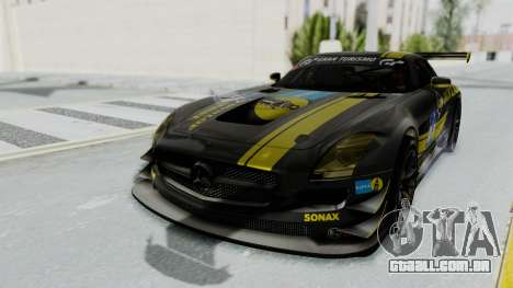 Mercedes-Benz SLS AMG GT3 PJ7 para o motor de GTA San Andreas