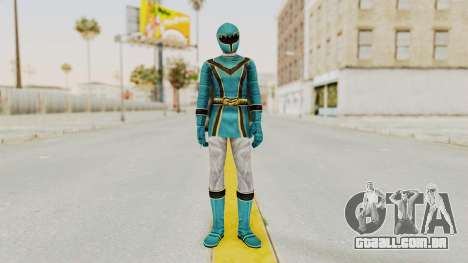Power Rangers Mystic Force - Blue para GTA San Andreas segunda tela