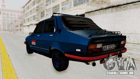 Dacia 1310 MLS Modell 1985 para GTA San Andreas esquerda vista
