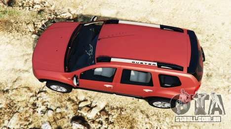 GTA 5 Dacia Duster 2014 voltar vista