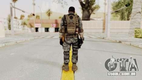 Battery Online Soldier 1 v3 para GTA San Andreas terceira tela