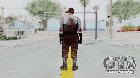 Manhunt 2 - Janitor para GTA San Andreas terceira tela