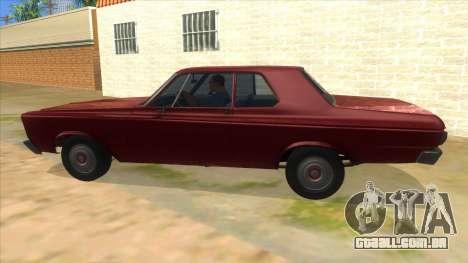 1965 Plymouth Belvedere 2-door Sedan para GTA San Andreas esquerda vista