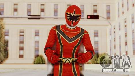 Power Rangers Mystic Force - Red para GTA San Andreas