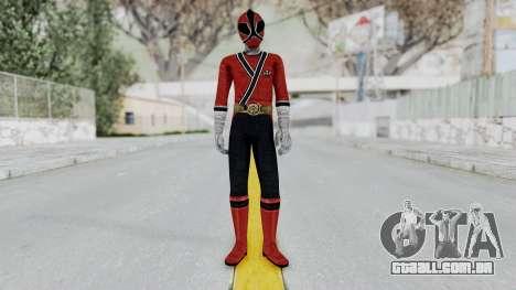 Power Rangers Samurai - Red para GTA San Andreas segunda tela