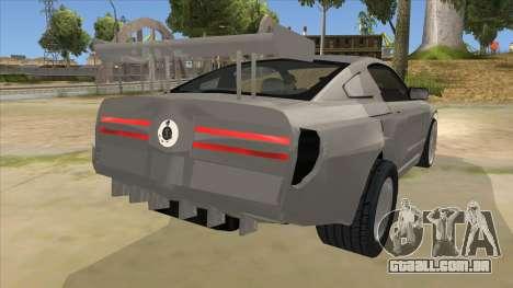 Ford Mustang para GTA San Andreas vista direita