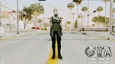 Mass Effect 2 Shiala para GTA San Andreas segunda tela