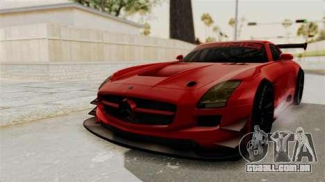 Mercedes-Benz SLS AMG GT3 PJ2 para GTA San Andreas traseira esquerda vista