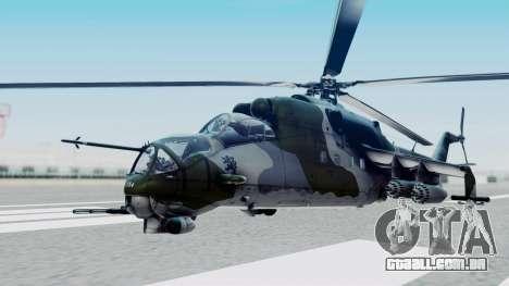Mi-24V Czech Air Force 7354 para GTA San Andreas