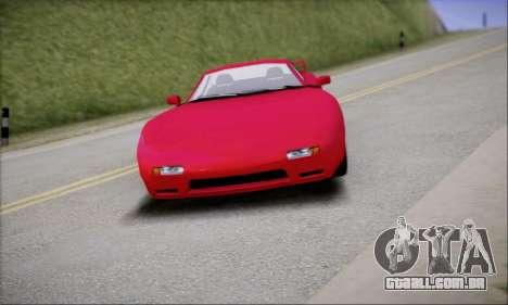 ZR - 350 para GTA San Andreas traseira esquerda vista