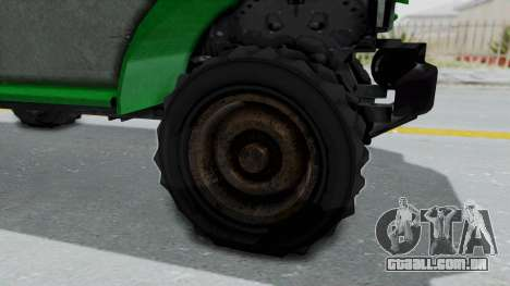 GTA 5 Bravado Duneloader Cleaner Worn IVF para GTA San Andreas vista traseira