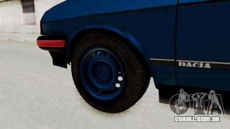Dacia 1310 MLS Modell 1985 para GTA San Andreas traseira esquerda vista