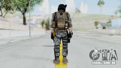 Battery Online Soldier 7 para GTA San Andreas terceira tela