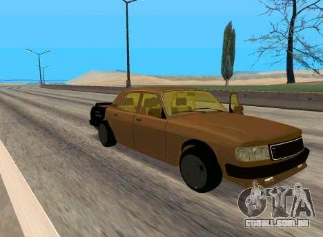Volga 3110 Classic Batalha para GTA San Andreas esquerda vista