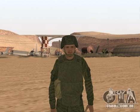 Motorizado privado rifle de tropas para GTA San Andreas