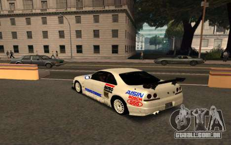 Nissan Skyline R33 Tunable para GTA San Andreas vista interior